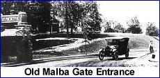 Gate entrance to Malba